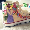 Embroided Coverse Shoe