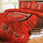 ชุดผ้าปูที่นอนเกรดพรีเมี่ยม สโมสรฟุตบอล ขนาด 3.5,5,6 ฟุต ครบชุด 6 ชิ้น