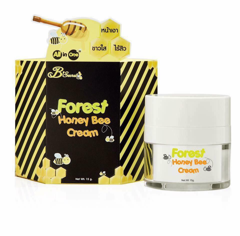 B'secret Forest Honey Bee Cream บี ซีเคร็ท ฟอเรสท์ ฮันนี่ บี ครีม ครีมน้ำผึ้งป่า ราคาปลีก-ราคาส่ง