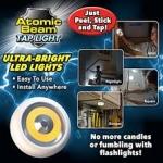 Atomic Beam Tap light
